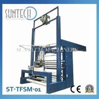 SUNTECH China knitted tubular fabric untwisting machine / fabric slitting and plaiting machine fabric cutting machine