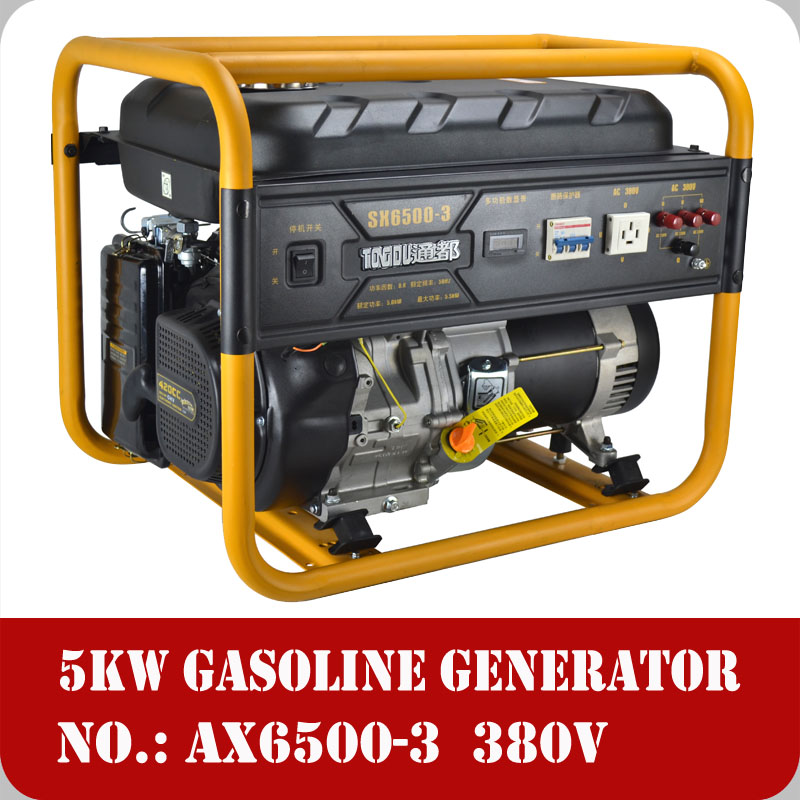 how to connect avr to generator