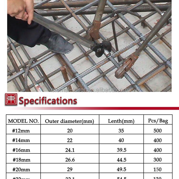 Rebar acoplador joint #20 #45