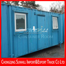 Hot sale Single Layer 40ft Shipping Container Hotel, Container Office,Container Workshop, Container bedroom