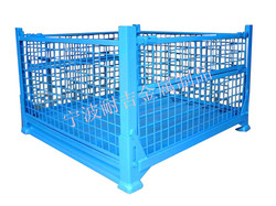 Metal Roll Cage/powder coating roll stacking wire cage