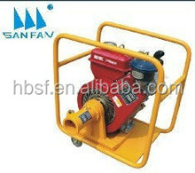 the price of SANFAN brand 47kg 2600r/min Changchai 165F diesel engine 3hp ZNR50 vibrator