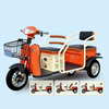 500W 60V Cheap Popurlar Handicapped Electric Tricycle with passenger seat