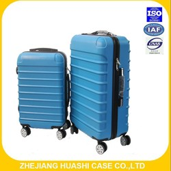 2015 cheap and hot design ABS luggage with plane wheels