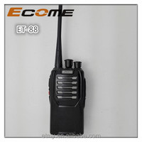 chinese high power vhf mobile walkie talkie ECOME radio receiver ET-88