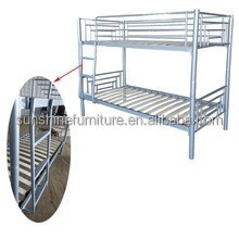 top sale modern home furniture type metal bunk bed , bed frame, metal bunk bed parts of shandong