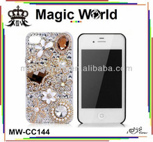 crystal bag jeweled cell phone cases