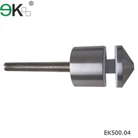 Stainless steel glass fencing fastener