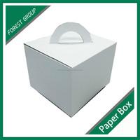 CUSTOM MADE CARDBOARD PAPER CORRUGATED CAKE BOX