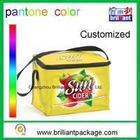 Tote Handle Durable Ice Cream Bottle Can Cooler Bag