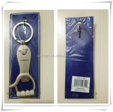 promotion custom made leather /metal/ pvc car keychain