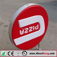 Screen printing outdoor advertising round light box