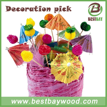 Beautiful decoration picks,party sticks