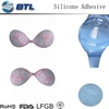 breathable adhesive silicone for fabric bra
