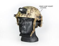 black and tan color 125 lumens wargame helmets light/flashlight