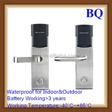 K-3000C3B 2015 Hot Selling Low Power Consumption and TI MSP430 MCU Low Temperature Working Waterproof Hotel Lock