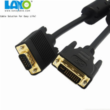 8-Inch video card dvi d 24+5 to vga Adapter cable