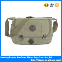 Hot selling fashion teen's casual sports canvas shoulder bags cross body bag messenger bag