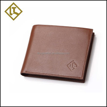 Chinese cheap leather wallet factory prices men's travel genuine leather wallet