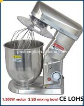 multifunción 5l cocina mezclador de harina de la máquina de mezcla de las ss
