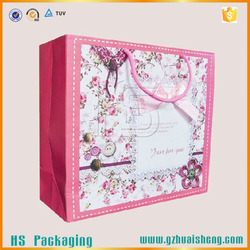 New design Custom paper bags shopping bag with handle trade assurance supplier