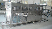 5 gallon barrel washing, filling and capping machine