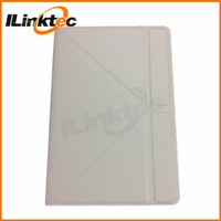 ILINKTEC White leather case wireless keyboard for ipad 2 Bluetooth 3.0 type slim keyboard cover for ipad 2