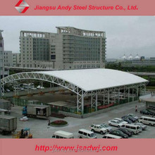 Car parking cover steel roof truss