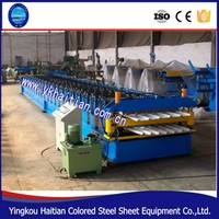 Double layer for making ibr corrugated iron roof sheet machine