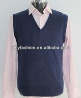 cashmere cable knitted sweater vest men