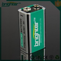 9v aaaa 6lr61 alkaline battery for electric toys