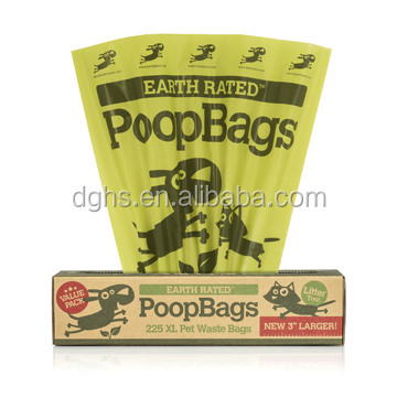 custom printed dog poop bags