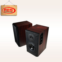 Aier 2.0 active speakers 4 inch pa system with PC/VCD/DVD/CD/TV and other audio input