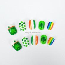 2015 newest Lucky grass nail art,chlidren's nail art