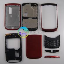 wholesale for Blackberry 9800 full cover full housing red