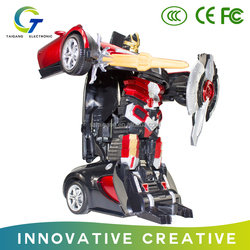 New intelligent Transformation robot toys , car robot toy for kids with nice price