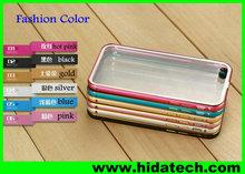 Shining bling aluminium metal bumper case for iphone 5 iphone 6 bumper case