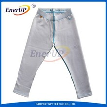 Thermal Wicking White Long Johns For Kids