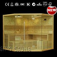 2014 new cheap mosaic stone finnish saunas and sauna room with starlights