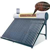 DIY compact copper coil sun power solar hot water heater with high quality offering hot water for 24 hours made in China
