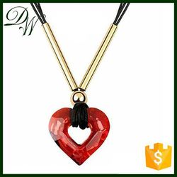 TOP10 BEST Selling Charming pendant necklace for woman 18k solid gold chain necklace, nickle free beauty custom necklace