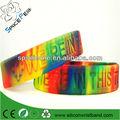 De deboss concienciación sobre el autismo de pulseras de silicona banda infantil/tamaño de la juventud
