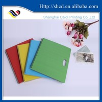 personalized hardcover ring binder notebook planner with holder