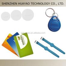 125KHz RFID card/ RFID wristband/ RFID coin tag/ RFID key tag