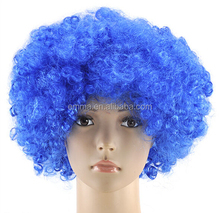 New coming Curly Afro Fancy Dress Wigs Funky Disco Clown Style Mens/Ladies Costume 70s wigs Hair W2075