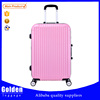 2015 ABS colorful cheap luggage , Suitcase design cabin size luggage abs pc hard trolley bag