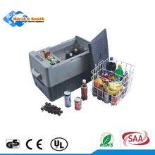 Mini Order SAA UL Adapter Certified Portable Camping 12V DC Car Fridge
