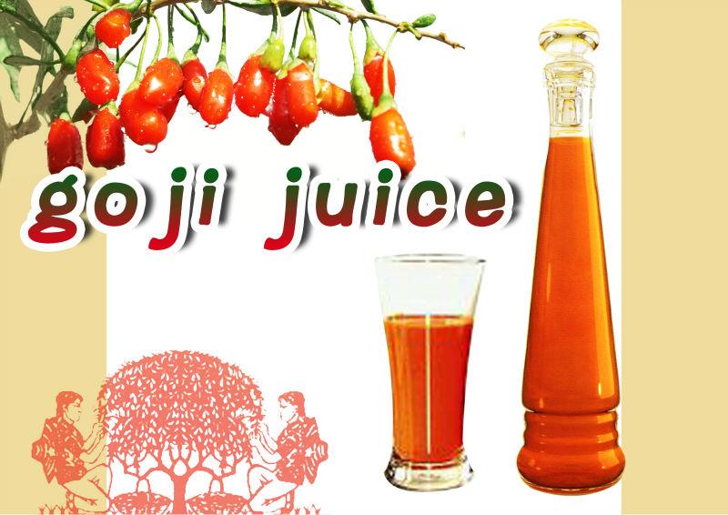 Organic Goji Juice (100% Goji juice from fresh berries)