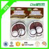 7*9cm Hanging coconut Scent Custom shape Car Paper air freshener