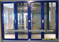 New design sale aluminum folding door